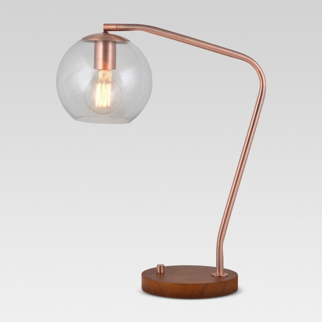"Menlo globe desk lamp --""Inexpensive Apartment Decorating Ideas"""