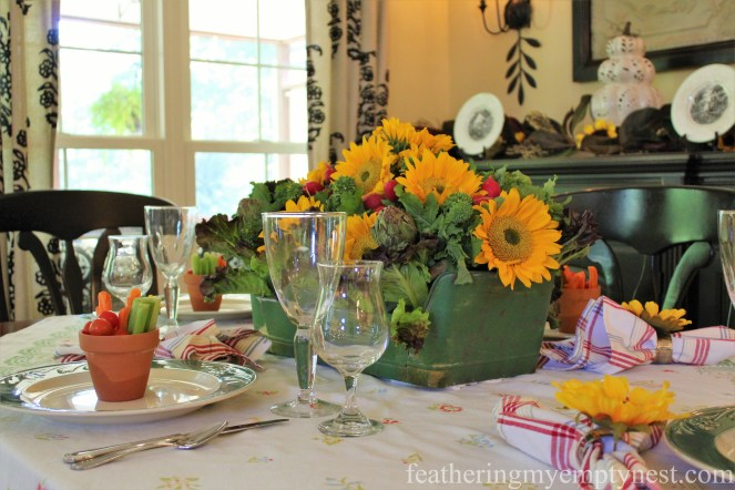 --Fall Harvest Tablescape