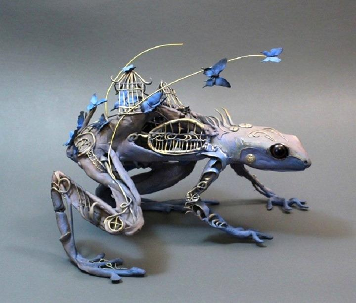 Ellen Jewett The Grotesque Hybrids Feather Of Me