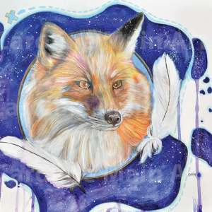Fox Prints 8×10 Print