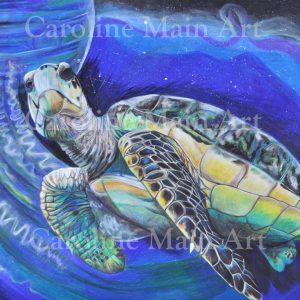Cosmic Sea Turtle