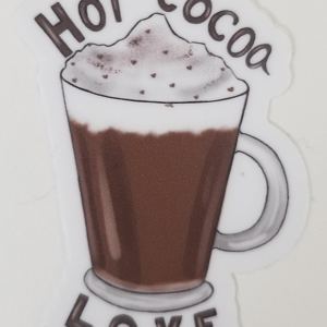 Cafe and Hot Cocoa Stickers