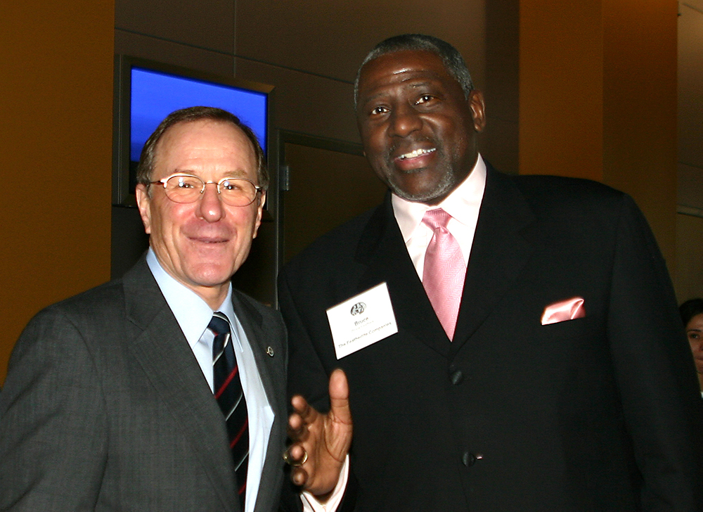 Bruce with Former Oregon Governor Kulongoski
