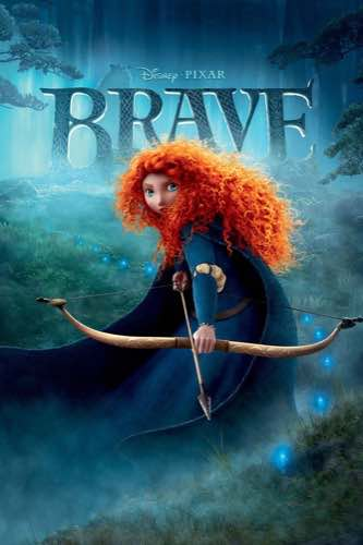 Brave 2012 movie poster