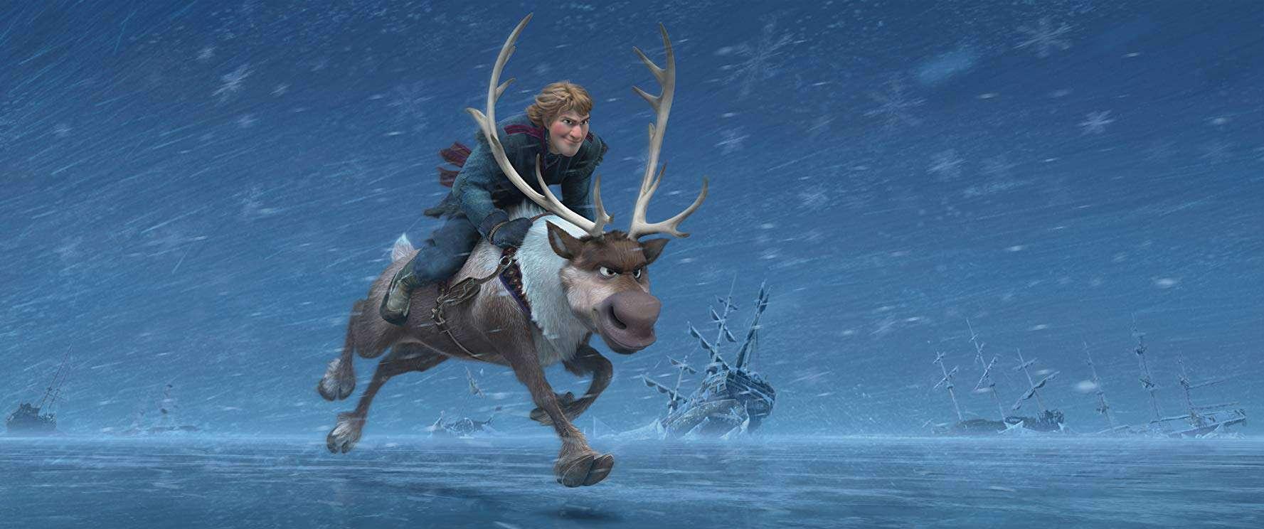 Frozen Kristoff and Sven