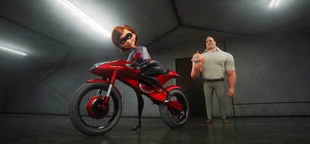 Incredibles 2 Elastigirl's new bike