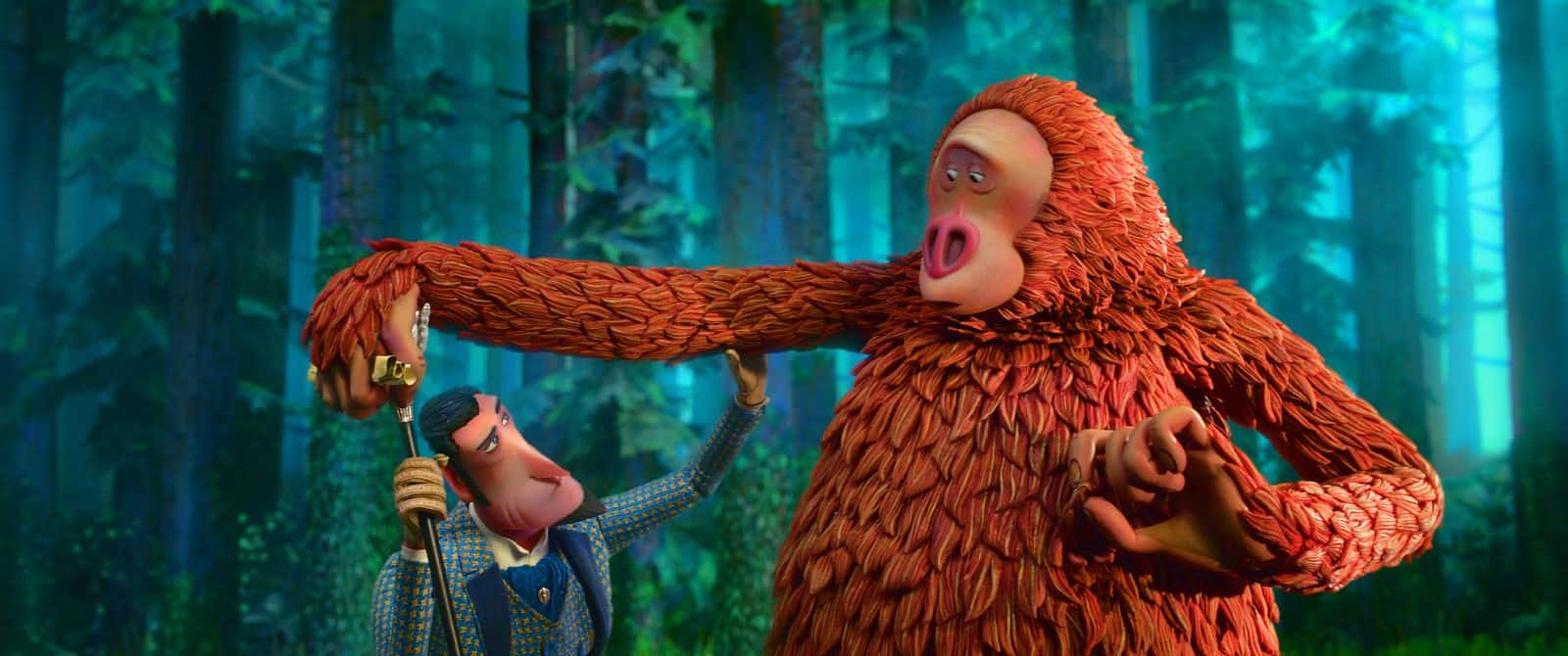 Missing Link movie first meeting