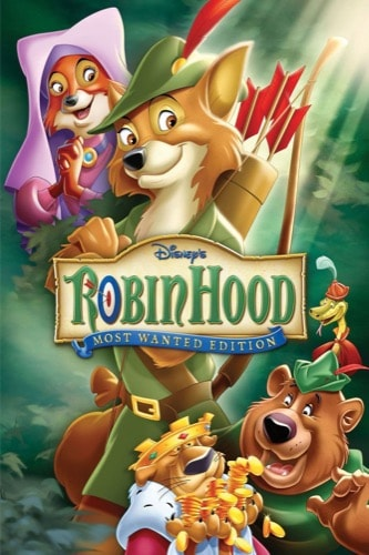 Robin Hood 1973 movie poster