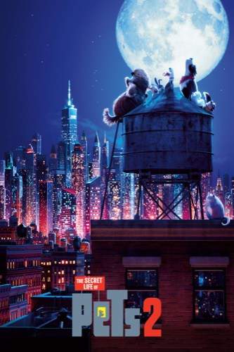 The Secret Life of Pets 2 2019 movie poster
