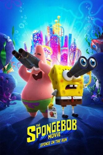 The SpongeBob Movie Sponge On The Run 2020 movie poster