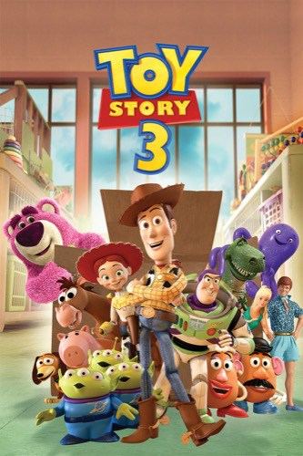 Toy Story 3 2010 movie poster