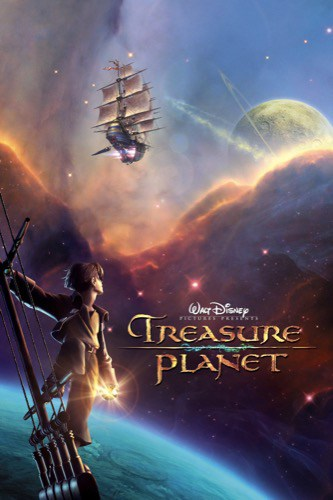 Treasure Planet 2002 movie poster