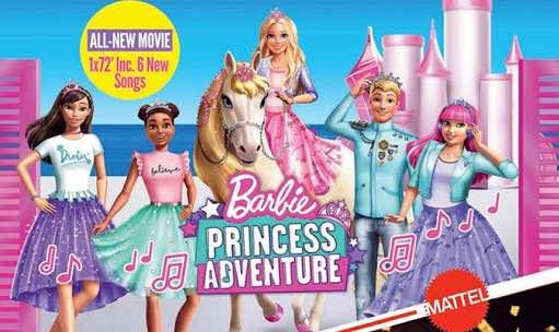 Barbie Princess Adventure 2020