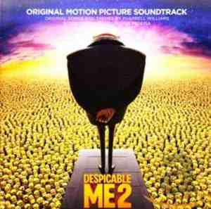 Despicable Me 2 soundtrack album cover