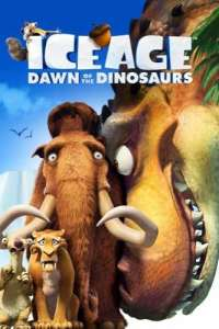 Ice Age Dawn of the Dinosaurs movie poster 2009
