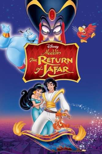 Aladdin and the Return of Jafar 1994 movie poster