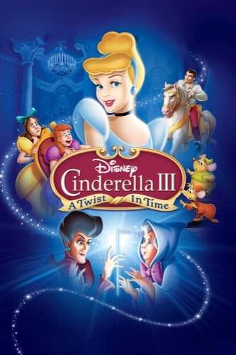 Cinderella 3 A Twist in Time 2007 movie poster