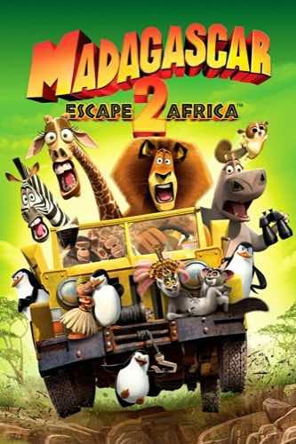 Madagascar Escape 2 Africa 2008 movie poster