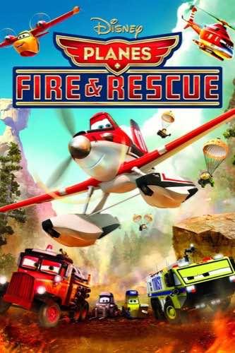 Planes Fire & Rescue 2014 movie poster
