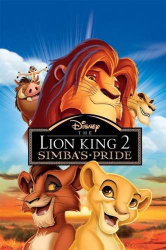 The Lion King 2 Simba's Pride 1998 movie poster