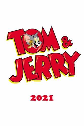 Tom & Jerry 2021 movie poster
