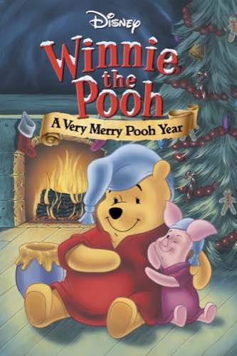 Winnie the Pooh A Very Merry Pooh Year 2002 movie poster