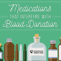 Medicines that may interfere with blood donation