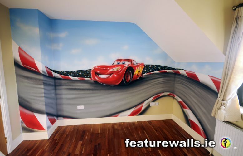 Disney Pixar Cars World Wallpaper Mural Kids Murals Childrens Rooms Decorating Kids Rooms Super
