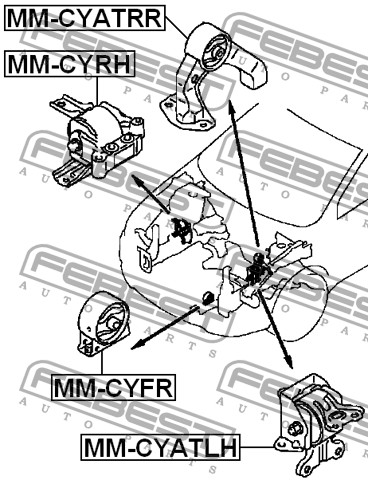 2008 Mitsubishi Lancer Engine, 2008, Free Engine Image For