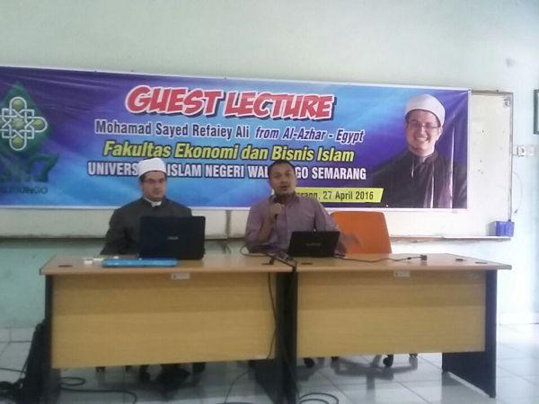 Diskusi Ilmiah Dosen  Guest Lecture From Al Azhar- Egypt