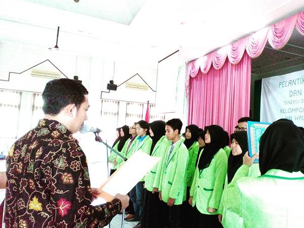 Pelantikan Pengurus Baru Kelompok Studi Pasar Modal (KSPM)  UIN Walisongo Semarang