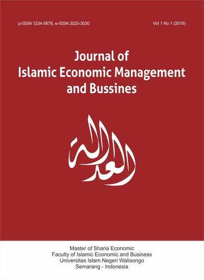 Journal of Islamic Economics Management and Business