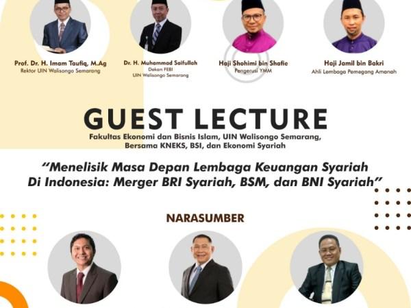 Untuk meningkatkan Mutu kwalitas SDM, FEBI UIN Walisongo gelar Guest Lecture dan penandatangan MoU dan MoA dengan Yayasan Makmun Malaysia