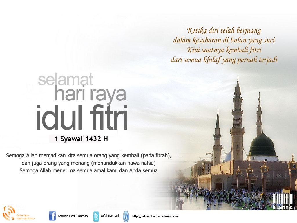 Selamat Hari Raya Idul Fitri 1432 H  Cerita Kehidupan