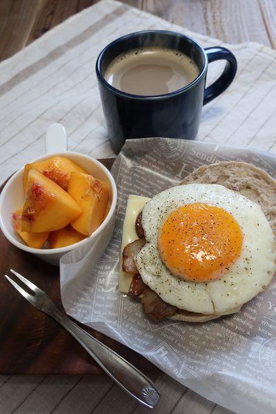 その前の朝食