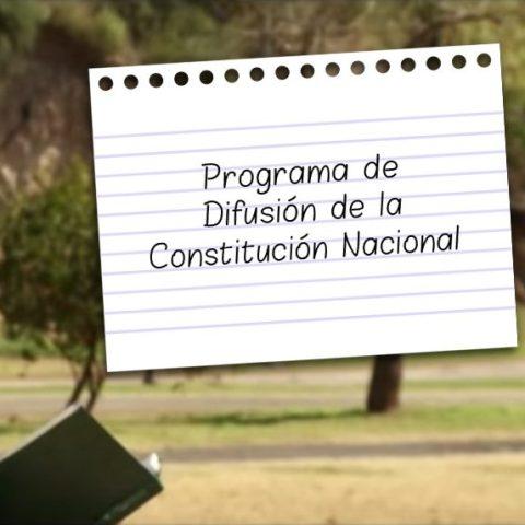 Programa de Difusión de la Constitución Nacional