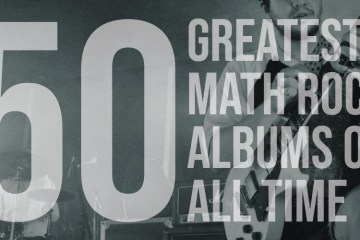Greyscale Comp of Fifty Greatest Math Rock Bands of All Time