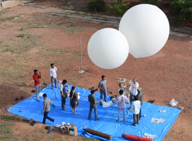 Multistage Helium Balloon Project