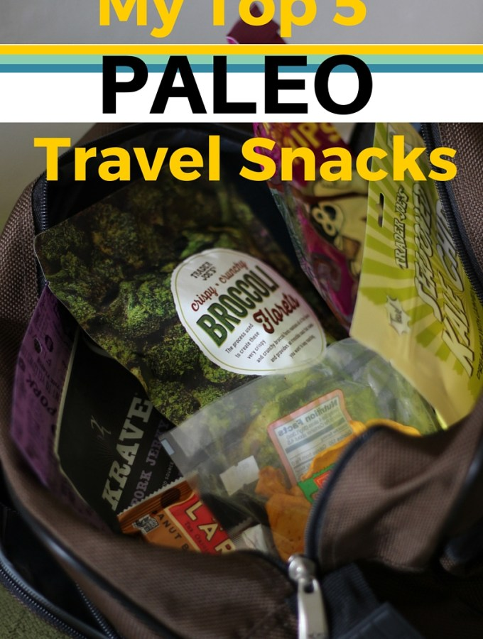 My Top 5 Paleo Travel Snacks