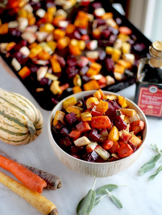 Roasted Rainbow Root Veggies + Cooking Club Love