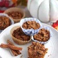 Paleo Pumpkin Spice Muffins (AIP)