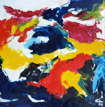 Hebrides Oil on canvas 90 x 90 cm 2005