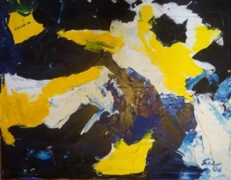 Spring Oil on canvas 91 x 71 cm 2006