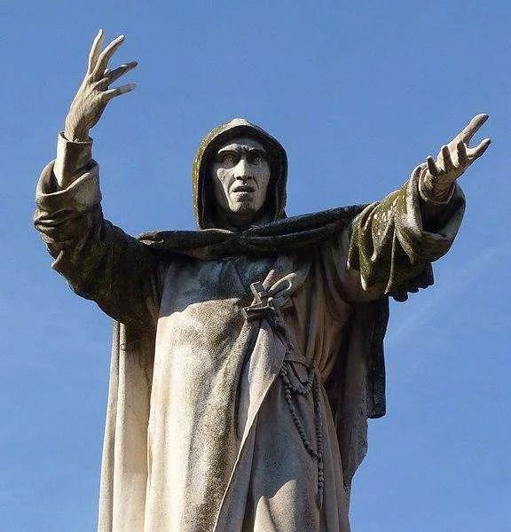 Statua di Girolamo Savonarola a Ferrara