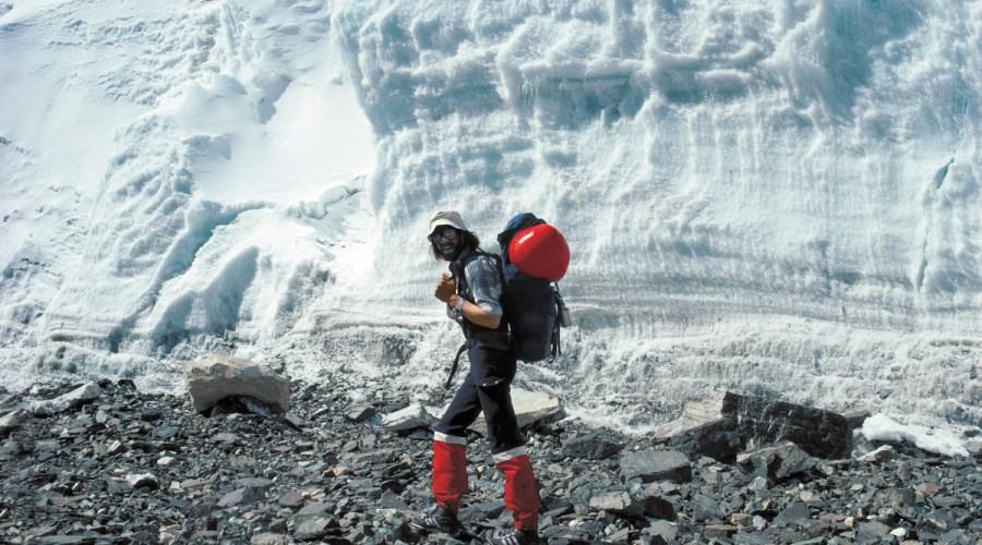 Reinhold Messner pe Everest