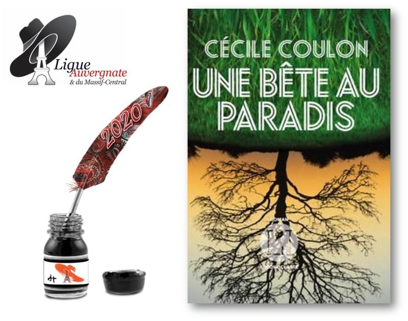 Prix Averne 2020 : Une Bête au Paradis - Cécile COULON