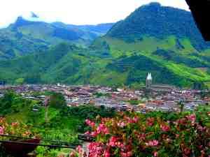 Vista de Jardín Antioquia
