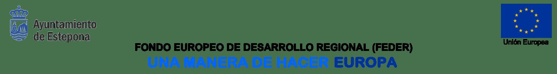 Fondos FEDER de la Unión Europea - Ayuntamiento de Estepona