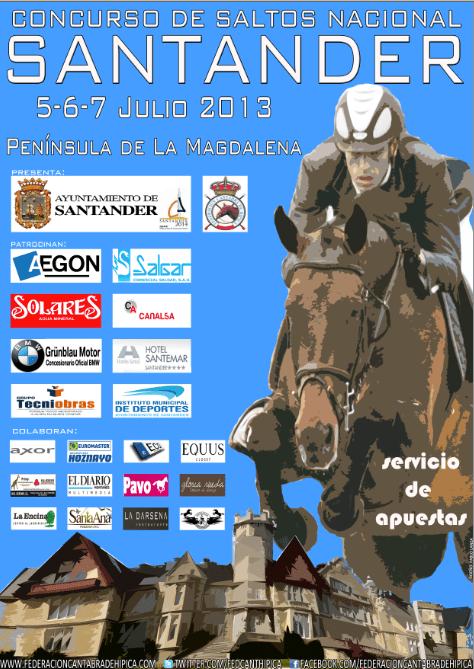 CSN 2* Santander. 5-6-7 Julio 2013