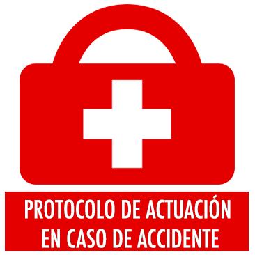 Protocolo de actuación en caso de accidente
